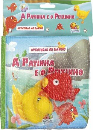Livro aventuras no banho a patinha e o peixinho