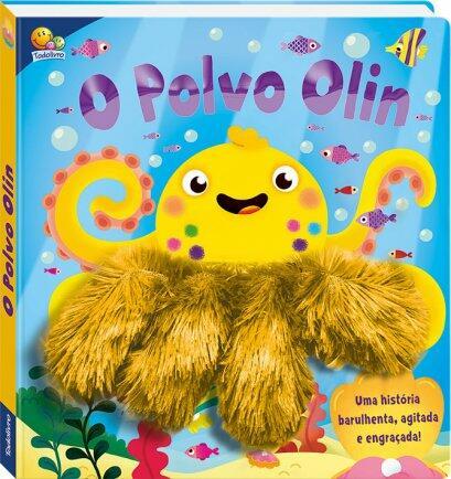 Livro dedoche o polvo Olin