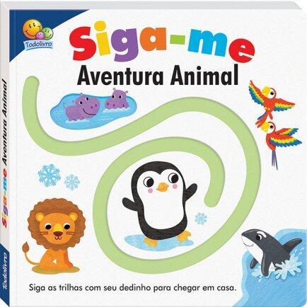Livro siga-me aventura animal