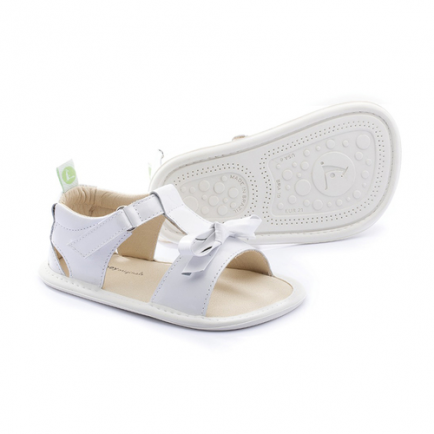 Sandália Whimsy  patent white 18 Tip Toey Joey