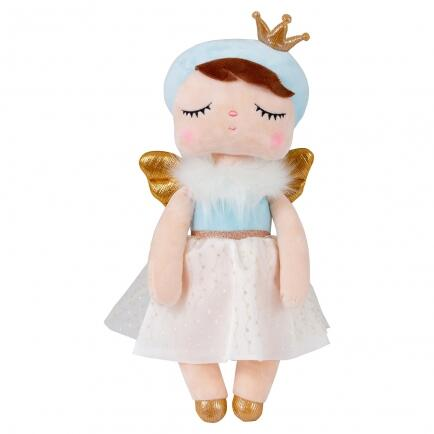 Boneca Metoo Angela Angel Azul 33cm bup baby