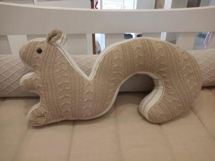Esquilo em tricot FAU